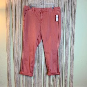 The Chino by Anthropologie in Pink Rose NWT! 32